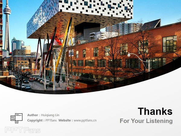Ontario College of Art & Design powerpoint template download | 安大略艺术设计学院大学PPT模板下载_幻灯片预览图18