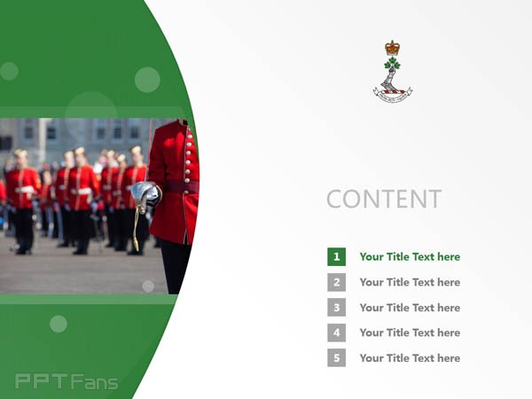 Royal Military College Canada powerpoint template download | 加拿大皇家军事学院PPT模板下载_幻灯片预览图2