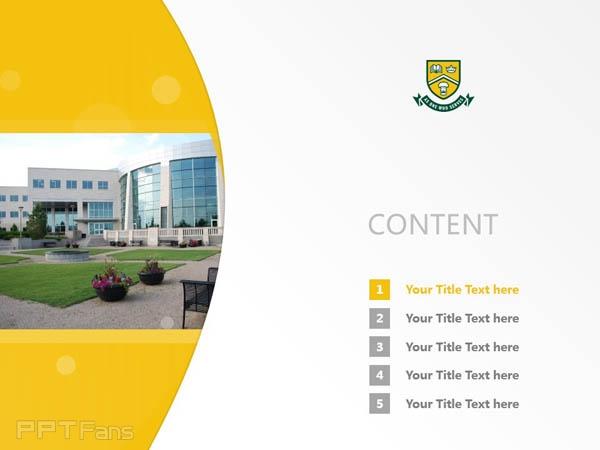 University of Regina powerpoint template download | 里贾纳大学PPT模板下载_幻灯片预览图2