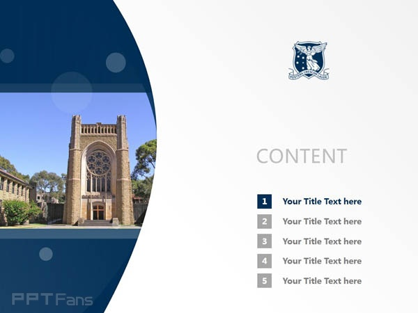 The University of Melbourne powerpoint template download | 墨尔本大学PPT模板下载_slide2