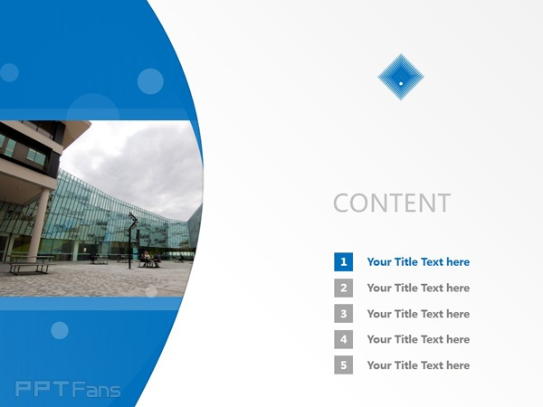 Victoria University powerpoint template download | 维多利亚大学PPT模板下载_slide2