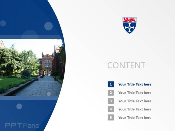 University of Newcastle upon Tyne powerpoint template download | 纽卡斯尔大学PPT模板下载_slide2