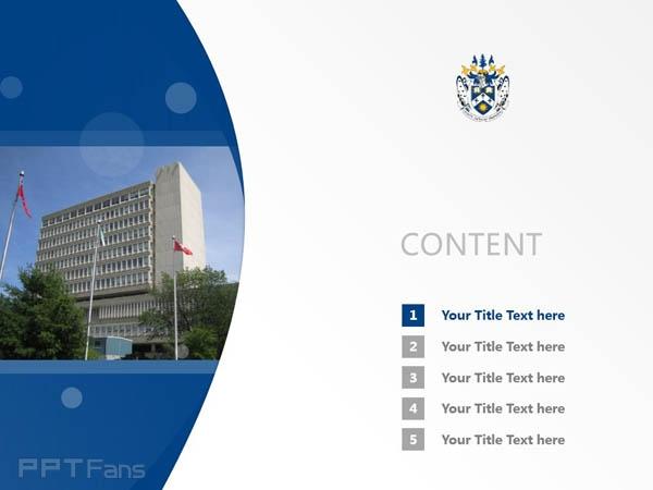 Laurentian University powerpoint template download   劳伦森大学PPT模板下载_幻灯片预览图2