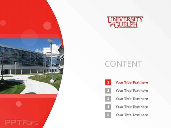 University of Guelph powerpoint template download | 圭尔夫大学PPT模板下载_幻灯片预览图2