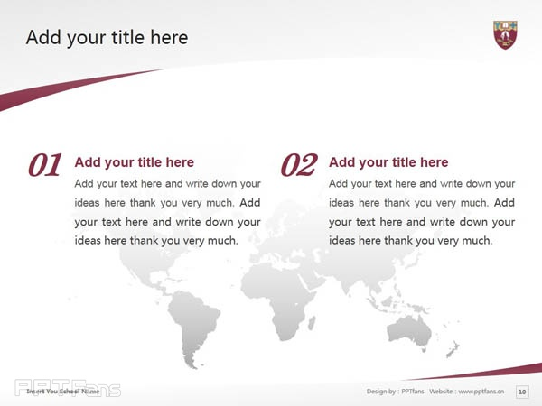 University of Canterbury powerpoint template download | 坎特伯雷大学PPT模板下载_幻灯片预览图11