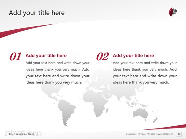 Macquarie University powerpoint template download | 麦考瑞大学PPT模板下载_slide11