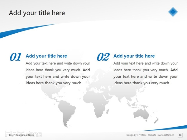 Victoria University powerpoint template download | 维多利亚大学PPT模板下载_slide11