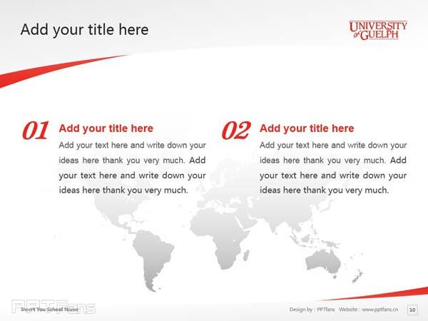 University of Guelph powerpoint template download | 圭尔夫大学PPT模板下载_幻灯片预览图11