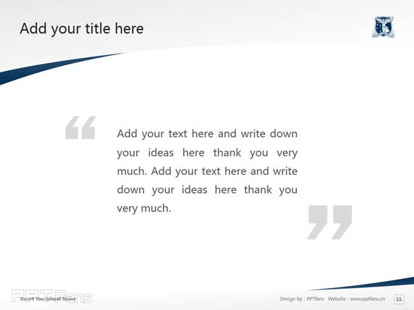 The University of Melbourne powerpoint template download | 墨尔本大学PPT模板下载_slide12
