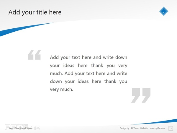 Victoria University powerpoint template download | 维多利亚大学PPT模板下载_slide12