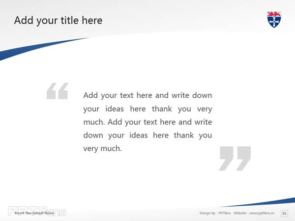 University of Newcastle upon Tyne powerpoint template download | 纽卡斯尔大学PPT模板下载_slide12
