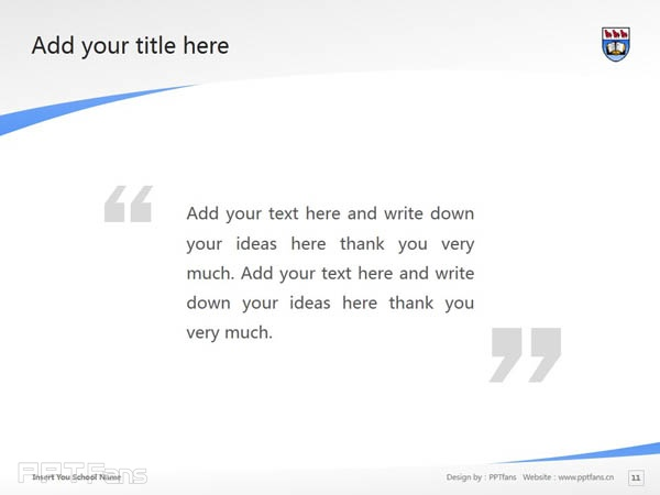 University of Victoria powerpoint template download | 维多利亚大学PPT模板下载_slide11