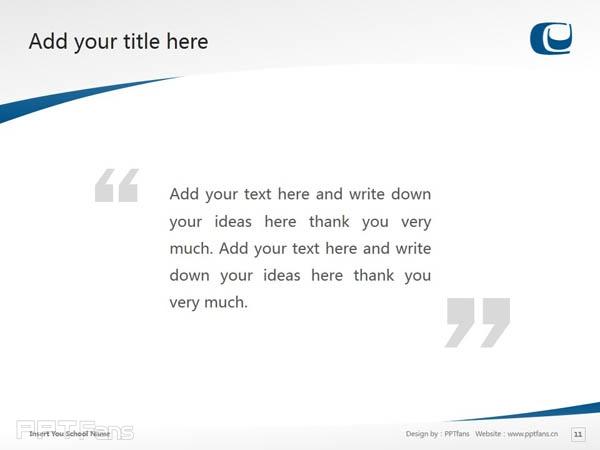 Capilano University powerpoint template download | 卡毕兰诺大学PPT模板下载_幻灯片预览图12