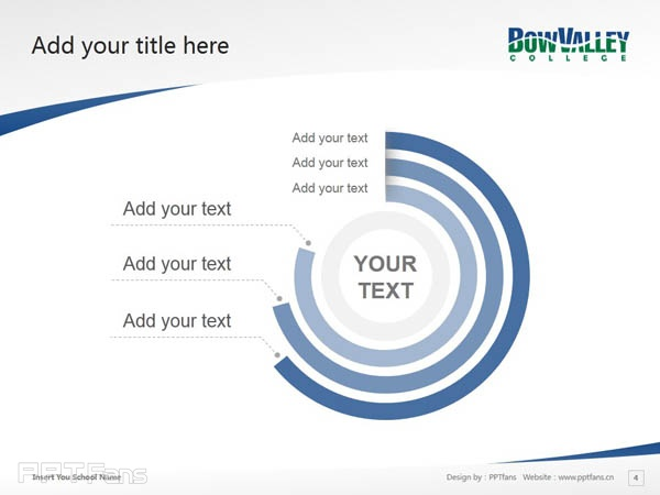 Bow Valley College powerpoint template download | 博瓦立学院PPT模板下载_幻灯片预览图5