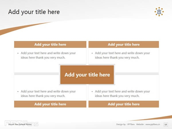 Tilburg University powerpoint template download | 蒂尔堡大学PPT模板下载_slide15
