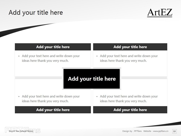 ArtEZ Institute of the Arts powerpoint template download | ArtEZ艺术学院PPT模板下载_幻灯片预览图16