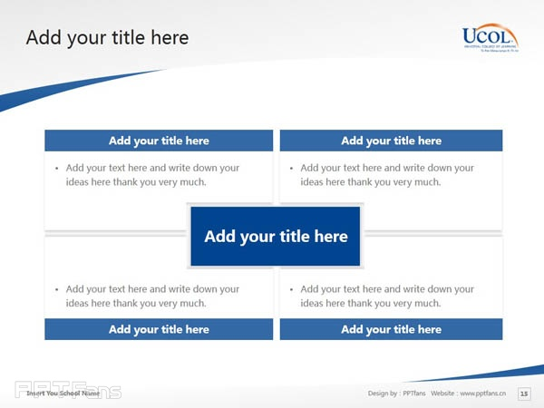 Universal College of Learning powerpoint template download | 环球理工学院PPT模板下载_幻灯片预览图16