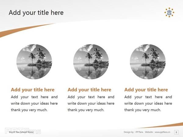 Tilburg University powerpoint template download | 蒂尔堡大学PPT模板下载_slide2