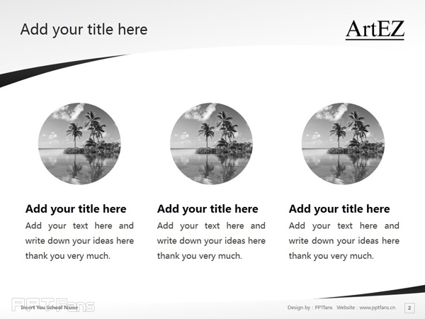 ArtEZ Institute of the Arts powerpoint template download | ArtEZ艺术学院PPT模板下载_幻灯片预览图3