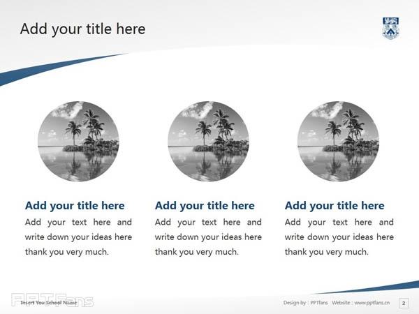 Whitecliff College of Arts and Design powerpoint template download | 怀特克利夫艺术设计学院PPT模板下载_幻灯片预览图3