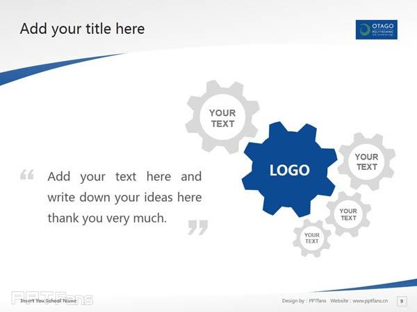 Otago Polytechnic powerpoint template download | 奥塔哥理工学院PPT模板下载_幻灯片预览图10
