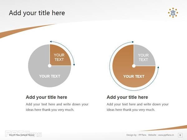 Tilburg University powerpoint template download | 蒂尔堡大学PPT模板下载_slide5