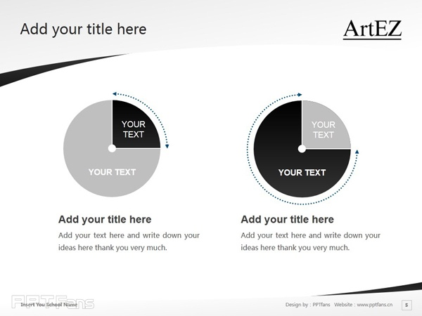 ArtEZ Institute of the Arts powerpoint template download | ArtEZ艺术学院PPT模板下载_幻灯片预览图6