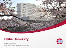 Chiba University powerpoint template download | 千叶大学PPT模板下载