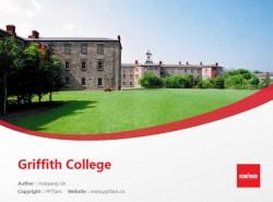 University College of Cork powerpoint template download | 科克大学学院PPT模板下载