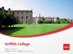 Griffith College powerpoint template download | 都柏林格里菲斯学院PPT模板下载
