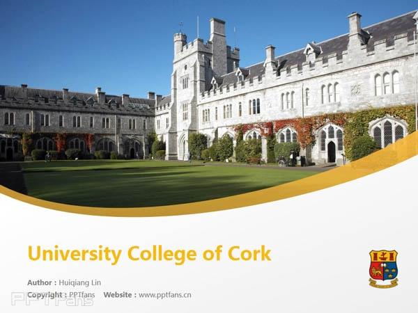 University College of Cork powerpoint template download | 科克大学学院PPT模板下载_slide1