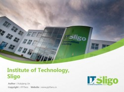 Institute of Technology, Sligo powerpoint template download | 斯莱戈理工学院PPT模板下载