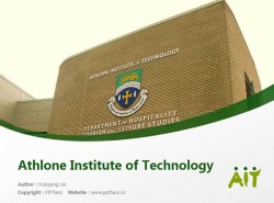 Athlone Institute of Technology powerpoint template download | 阿斯隆理工学院PPT模板下载