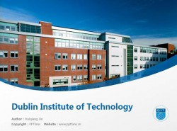 Dublin Institute of Technology powerpoint template download | 都柏林理工学院PPT模板下载