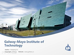 Galway-Mayo Institute of Technology powerpoint template download | 高威理工學院PPT模板下載