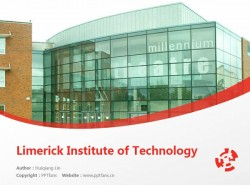 Limerick Institute of Technology powerpoint template download | 利莫瑞克理工学院PPT模板下载