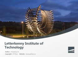 Letterkenny Institute of Technology powerpoint template download | 莱特肯尼理工学院PPT模板下载