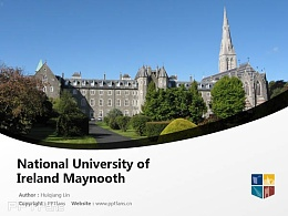National University of Ireland Maynooth powerpoint template download | 愛爾蘭國立梅努斯大學PPT模板下載