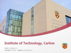 Institute of Technology, Carlow powerpoint template download | 卡罗理工学院PPT模板下载