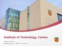 Institute of Technology, Carlow powerpoint template download | 卡羅理工學院PPT模板下載