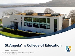 St.Angela's College of Education powerpoint template download | 圣安吉拉教育學院PPT模板下載