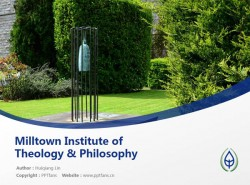 Milltown Institute of Theology & Philosophy powerpoint template download   米尔敦学院PPT模板下载