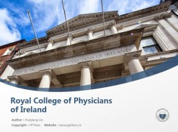 Royal College of Physicians of Ireland powerpoint template download | 爱尔兰皇家内科医学院PPT模板下载