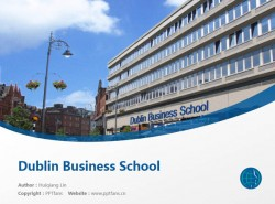 Dublin Business School powerpoint template download | 都柏林商学院PPT模板下载