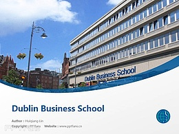 Dublin Business School powerpoint template download | 都柏林商學院PPT模板下載