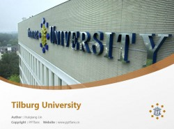 Tilburg University powerpoint template download | 蒂尔堡大学PPT模板下载