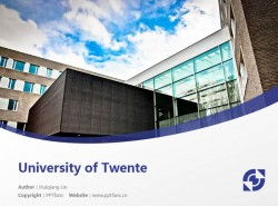 University of Twente powerpoint template download | 屯特大学PPT模板下载