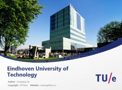 Eindhoven University of Technology powerpoint template download | 埃因霍芬理工大学PPT模板下载
