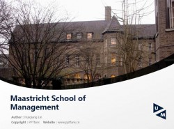 MSM powerpoint template download | 马斯特里赫特管理学院PPT模板下载
