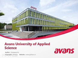 Avans University of Applied Science powerpoint template download | 艾文思应用科学大学PPT模板下载